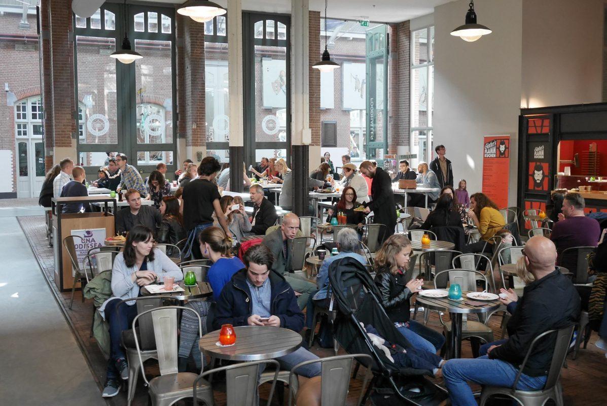 Foodhallen Amsterdam by Franklin Heijnen
