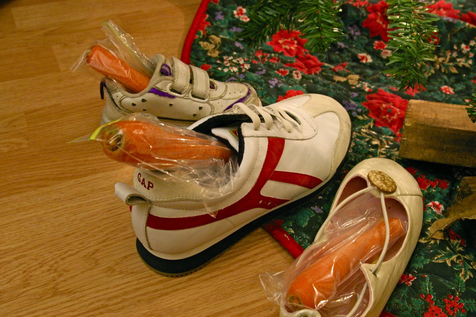 Sinterklaas, place your shoe