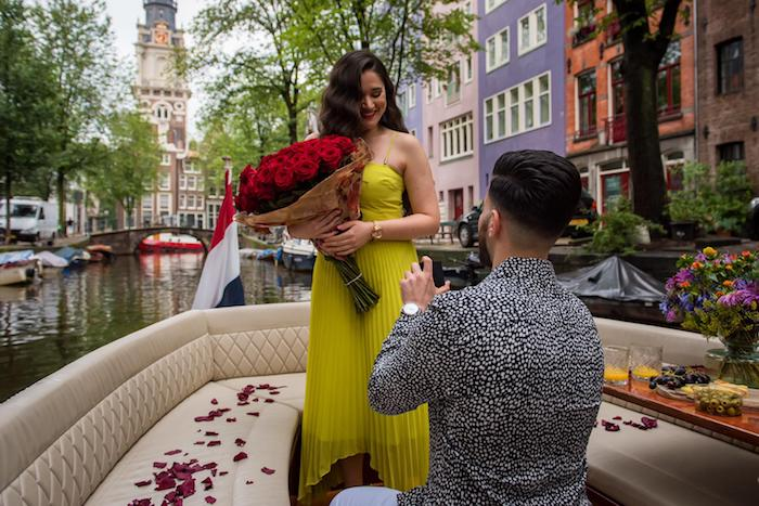 proposal cruise amsterdam